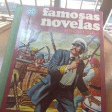 Tebeos: TOMO 13 FAMOSAS NOVELAS ILUSTRADAS ( JULIO VERNE, EMILIO SALGARI, EDGAR ALLAN POE, CHARLES DICKENS. Lote 205190937
