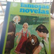 Tebeos: TOMO 10 FAMOSAS NOVELAS ILUSTRADAS ( JULIO VERNE, EMILIO SALGARI, KARL MAY, JUANA SPYRI, ETC ). Lote 205194918