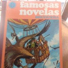 Tebeos: TOMO 12 FAMOSAS NOVELAS ILUSTRADAS ( DANIEL DAFOE, JULIO VERNE, FEMINORE COPER, MARK TWAIN, KARL MAY. Lote 205195080