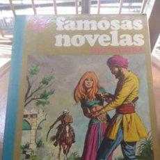 Tebeos: TOMO 12 FAMOSAS NOVELAS ILUSTRADAS ( CHARLES DICKENS, KARL MAY. H. RIDER HAGGARD, JACK LONDON ETC. Lote 205195286