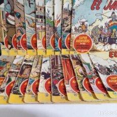 Tebeos: LOTE DE 19 TEBEOS DE EL JABATO.ORIGINALES DE LA EPOCA.AÑO 1959. Lote 205298511