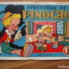 Tebeos: AVENTURAS DE PINOCHO Nº 3 (BRUGUERA 1944). Lote 205387156