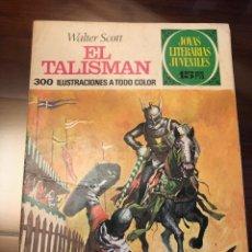 Tebeos: JOYAS LITERARIAS JUVENILES Nº 30 EL TALISMAN TAPA DURA CON LABERINTO ROJO 1 EDICION 1970. Lote 205399562