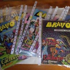 Tebeos: * BRAVO * EL CACHORRO * EDITORIAL BRUGUERA 1976 * COMPLETOS 38 Nº ORIGINALES *. Lote 205435628
