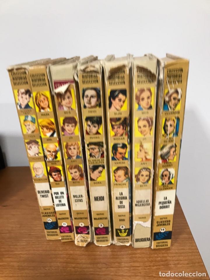 LOTE DE 7 LIBROS COLECCIÓN HISTORIAS SELECCIÓN DE EDITORIAL BRUGUERA (Tebeos y Comics - Bruguera - Historias Selección)
