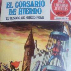 Tebeos: EL CORSARIO DE HIERRO NUMERO 6. Lote 205440112