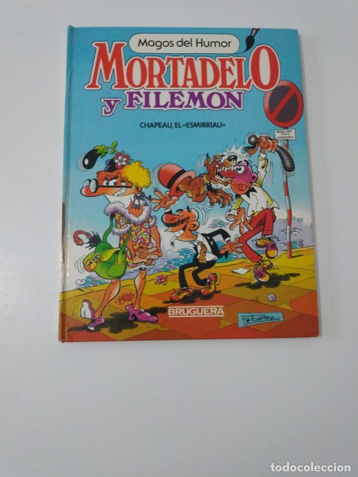 MORTADELO Y FILEMÓN NÚMERO 8 MAGOS DEL HUMOR 1 EDICIÓN 1985 EDITORIAL BRUGUERA (Tebeos y Comics - Bruguera - Mortadelo)
