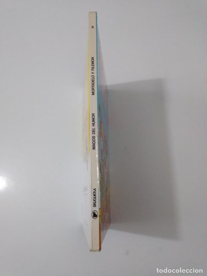 Tebeos: Mortadelo y Filemón número 8 Magos del Humor 1 Edición 1985 Editorial Bruguera - Foto 3 - 205445771