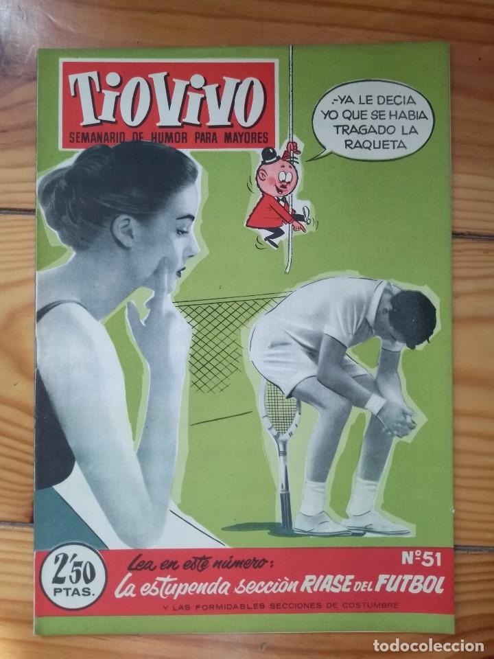 TÍO VIVO Nº 51- IMPECABLE! (Tebeos y Comics - Bruguera - Tio Vivo)