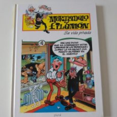 Tebeos: MORTADELO Y FILEMÓN SU VIDA PRIVADA 2 EDICIÓN 1998 EDITORIAL PLURAL. Lote 205516758