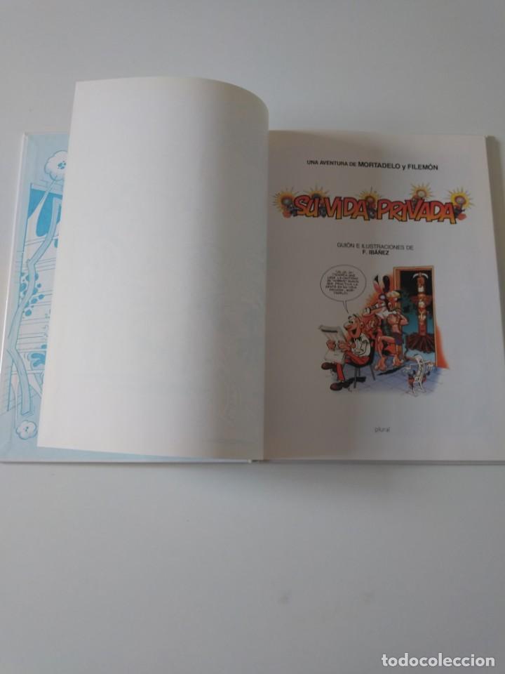 Tebeos: Mortadelo y Filemón Su Vida Privada 2 Edición 1998 Editorial Plural - Foto 5 - 205516758