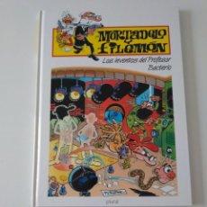 Tebeos: MORTADELO Y FILEMÓN LOS INVENTOS DEL PROFESOR BACTERIO 2 EDICIÓN 1998 EDITORIAL PLURAL. Lote 205517592