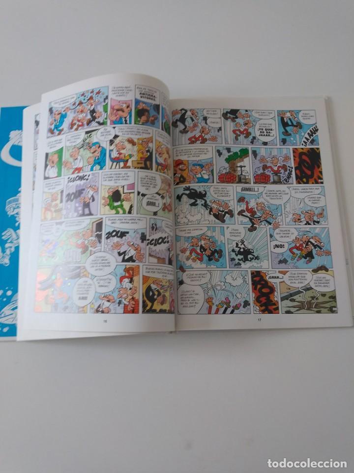 Tebeos: Mortadelo y Filemón Los Inventos del Profesor Bacterio 2 Edición 1998 Editorial Plural - Foto 6 - 205517592