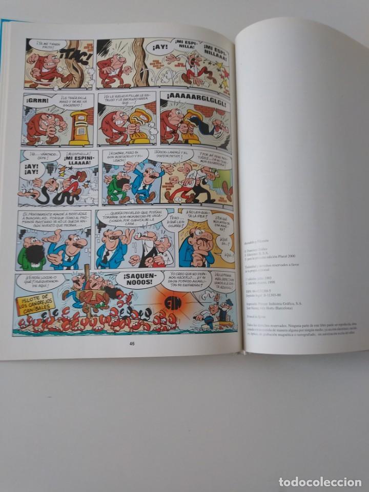 Tebeos: Mortadelo y Filemón Los Inventos del Profesor Bacterio 2 Edición 1998 Editorial Plural - Foto 8 - 205517592
