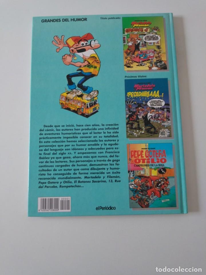 Tebeos: Mortadelo y Filemón número 1 Expediente J Grandes del Humor 1996 El Periódico - Foto 2 - 205518573