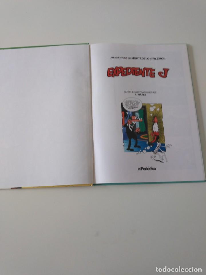 Tebeos: Mortadelo y Filemón número 1 Expediente J Grandes del Humor 1996 El Periódico - Foto 4 - 205518573
