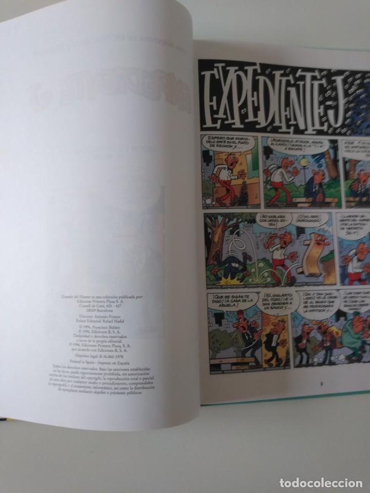 Tebeos: Mortadelo y Filemón número 1 Expediente J Grandes del Humor 1996 El Periódico - Foto 5 - 205518573