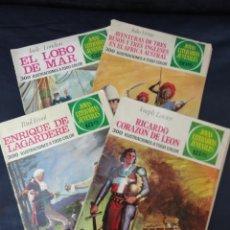Tebeos: 4 CÓMICS JOYAS LITERARIAS JUVENILES. ED. BRUGUERA. AÑO 1972.. Lote 205595320