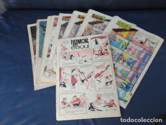 Tebeos: 6 REVISTAS CÓMICS TIO VIVO + ALMANAQUE 1967. - Foto 2 - 205596085