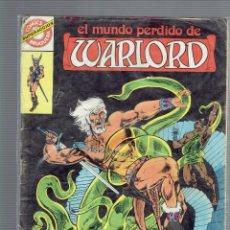 Tebeos: EL MUNDO PERDIDO DE WARLORD N,5 EN UN MONSTRUO ESPERA EN LA TORRE DEL PANICO BRUGUERA. Lote 205611971