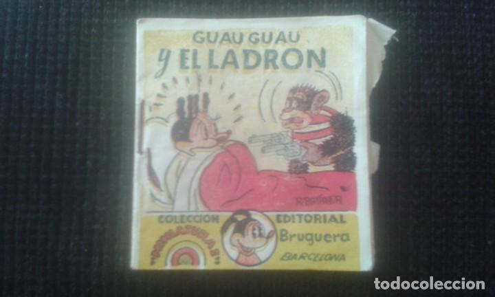 GUAU GUAU Y EL LADRON. COLECCION MINIATURAS. EDITORIAL BRUGUERA. BARCELONA. (Tebeos y Comics - Bruguera - Otros)