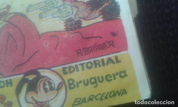 Tebeos: GUAU GUAU Y EL LADRON. COLECCION MINIATURAS. EDITORIAL BRUGUERA. BARCELONA. - Foto 3 - 205667033