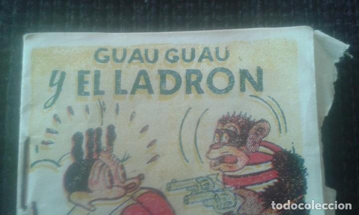 Tebeos: GUAU GUAU Y EL LADRON. COLECCION MINIATURAS. EDITORIAL BRUGUERA. BARCELONA. - Foto 4 - 205667033