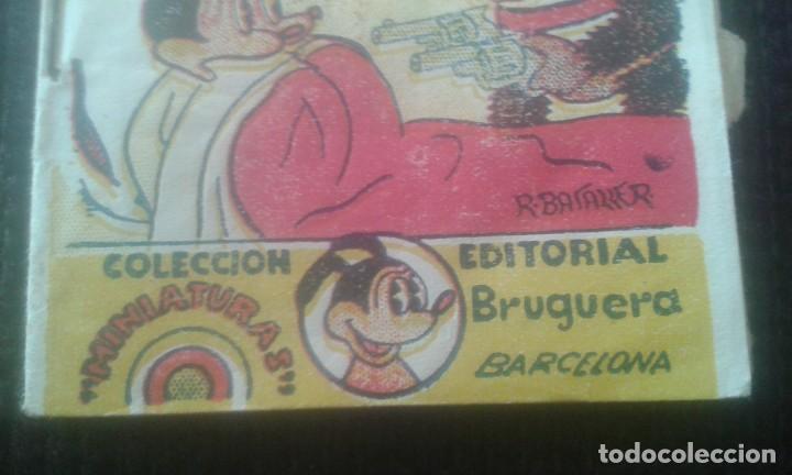 Tebeos: GUAU GUAU Y EL LADRON. COLECCION MINIATURAS. EDITORIAL BRUGUERA. BARCELONA. - Foto 5 - 205667033