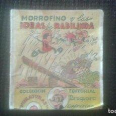 Tebeos: MORROFINO Y LAS IDEAS DE RABILINDA. COLECCION MINIATURAS. EDITORIAL BRUGUERA. BARCELONA.. Lote 205672233