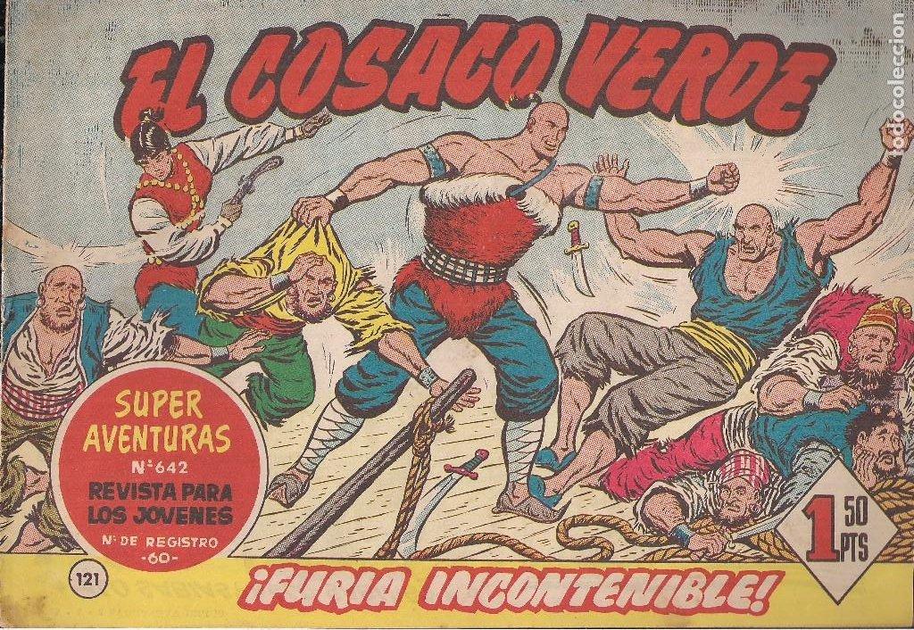 EL COSACO VERDE Nº 121. FURIA INCONTENIBLE (Tebeos y Comics - Bruguera - Cosaco Verde)
