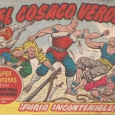 Tebeos: EL COSACO VERDE Nº 121. FURIA INCONTENIBLE. Lote 205674145