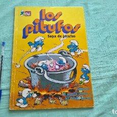 Tebeos: LOS PITUFOS - SOPA DE PITUFOS - COLECCION OLE -EDITORIAL BRUGERA AÑO 1992. Lote 205679803