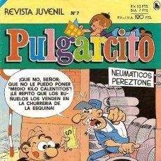 Tebeos: PULGARCITO-3ª ÉPOCA-BRUGUERA- Nº 7 -MESTIZO-LUIS BERMEJO-DELIRANTA-1986-BUENO-DIFÍCIL-LEA-3413. Lote 205687416