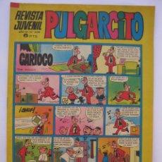 Tebeos: PULGARCITO - AÑO LII - Nº 2128 - CON EL SHERIFF KING - EDITORIAL BRUGUERA - AÑO 1972.. Lote 205710751