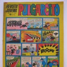 Tebeos: PULGARCITO - AÑO LII - Nº 2124 - CON EL SHERIFF KING - EDITORIAL BRUGUERA - AÑO 1972.. Lote 205712166