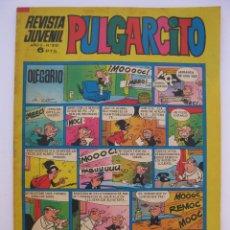Tebeos: PULGARCITO - AÑO LII - Nº 2121 - CON EL SHERIFF KING - EDITORIAL BRUGUERA - AÑO 1972.. Lote 205713478