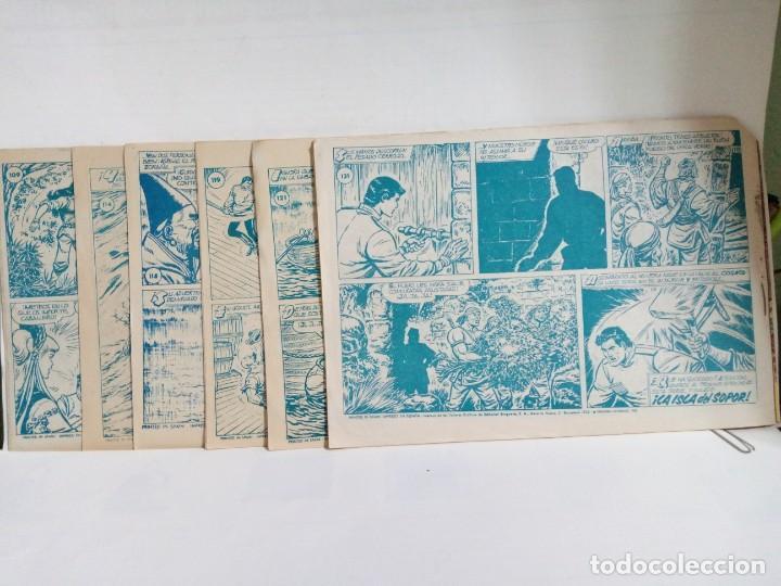 Tebeos: LOTE DE 6 TEBEOS DE EL COSACO VERDE.ORIGINALES DE LA EPOCA AÑO 1962 - Foto 3 - 205721975