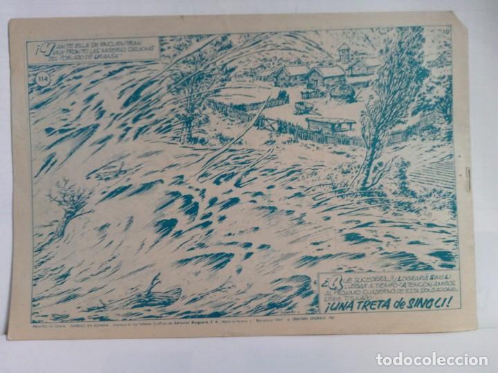 Tebeos: LOTE DE 6 TEBEOS DE EL COSACO VERDE.ORIGINALES DE LA EPOCA AÑO 1962 - Foto 11 - 205721975