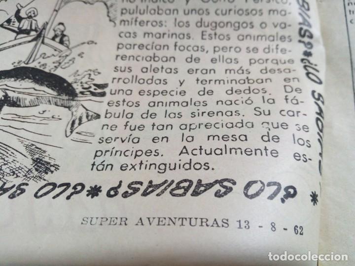 Tebeos: LOTE DE 6 TEBEOS DE EL COSACO VERDE.ORIGINALES DE LA EPOCA AÑO 1962 - Foto 13 - 205721975
