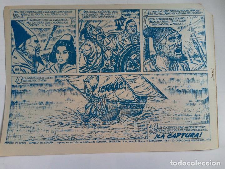 Tebeos: LOTE DE 6 TEBEOS DE EL COSACO VERDE.ORIGINALES DE LA EPOCA AÑO 1962 - Foto 14 - 205721975