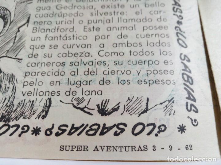 Tebeos: LOTE DE 6 TEBEOS DE EL COSACO VERDE.ORIGINALES DE LA EPOCA AÑO 1962 - Foto 19 - 205721975