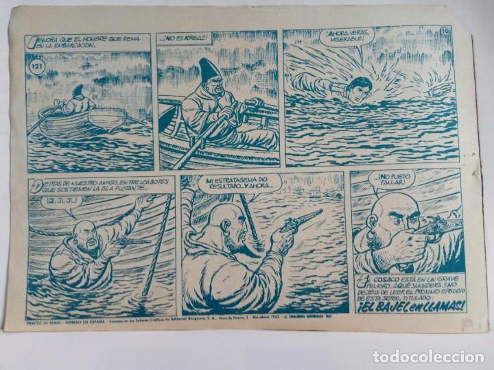 Tebeos: LOTE DE 6 TEBEOS DE EL COSACO VERDE.ORIGINALES DE LA EPOCA AÑO 1962 - Foto 21 - 205721975