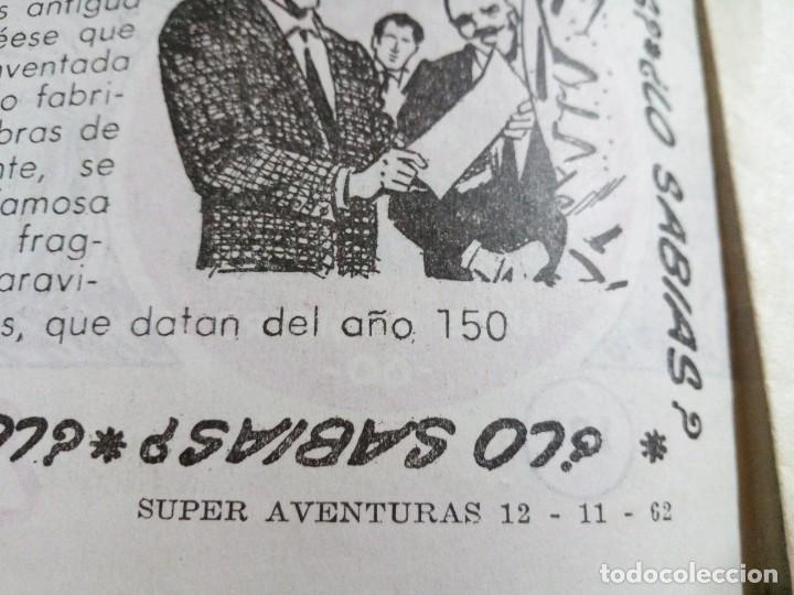 Tebeos: LOTE DE 6 TEBEOS DE EL COSACO VERDE.ORIGINALES DE LA EPOCA AÑO 1962 - Foto 23 - 205721975