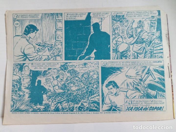 Tebeos: LOTE DE 6 TEBEOS DE EL COSACO VERDE.ORIGINALES DE LA EPOCA AÑO 1962 - Foto 25 - 205721975