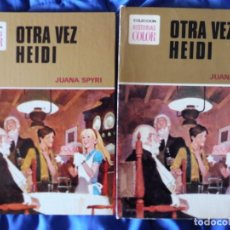 Tebeos: HISTORIAS COLOR SERIE MUJERCITAS OTRA VEZ HEIDI JUANA SPYRI Nº 9 1ª EDICIÓN CON CAJETÍN. Lote 205735017