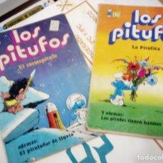Tebeos: LOTE DE 2 OLE DE LOS PITUFOS Nº 4 Y 7 - BRUGUERA 1979, 1A EDICION - VER DESCRIPCION. Lote 205812270