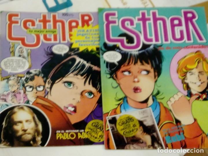 3 NUMEROS DE ESTHER Nº 50, 58 Y 92 - BRUGUERA AÑOS 80 (Tebeos y Comics - Bruguera - Esther)