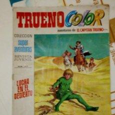 Tebeos: TRUENO COLOR Nº 1671 - LUCHA EN EL DESIERTO - BRUGUERA 1974. Lote 205823488