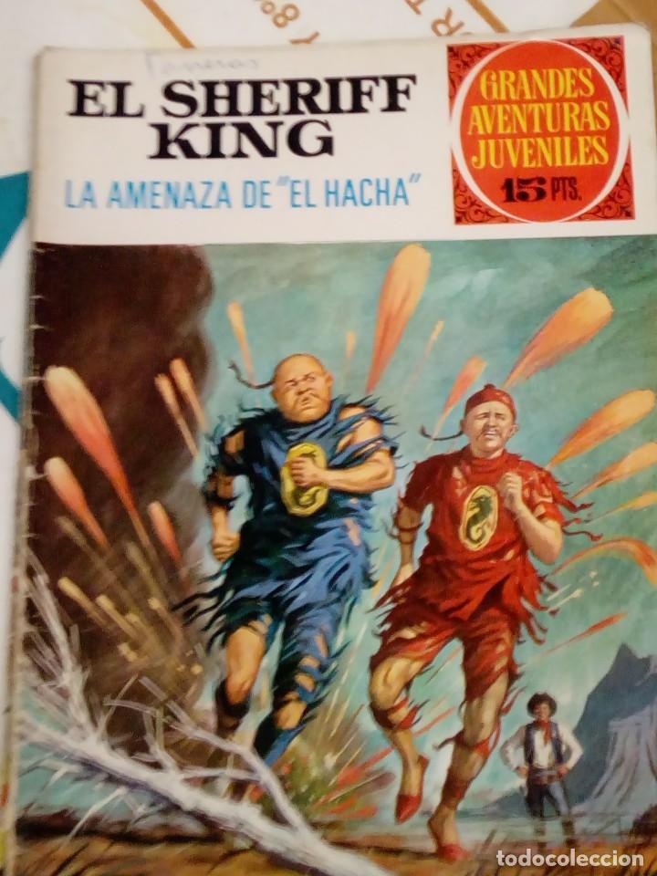 EL SHERIFF KING - LA AMENAZA DE EL HACHA - GRANDES AVENTURAS JUVENILES N 35 - BRUGUERA 1972 (Tebeos y Comics - Bruguera - Sheriff King)