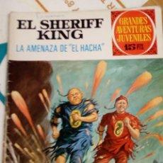 Tebeos: EL SHERIFF KING - LA AMENAZA DE EL HACHA - GRANDES AVENTURAS JUVENILES N 35 - BRUGUERA 1972. Lote 205827203